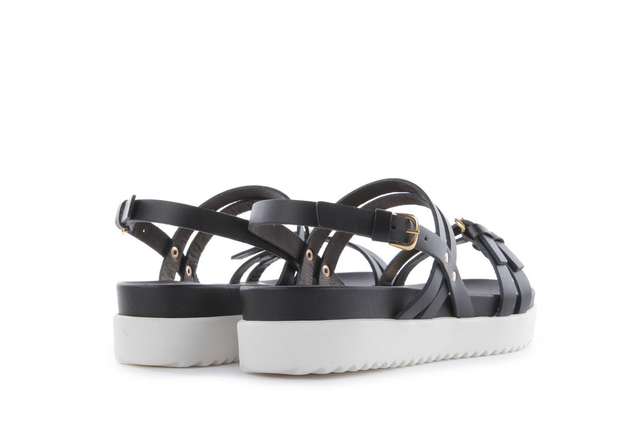 Sandały bayla-093 7554 black, czarny, skóra naturalna - bayla - nasze marki 11