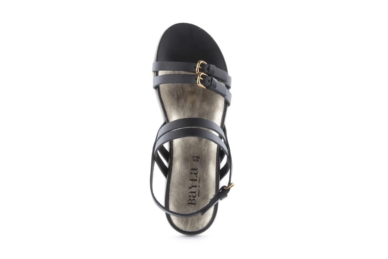 Sandały bayla-093 7554 black, czarny, skóra naturalna - bayla - nasze marki 12