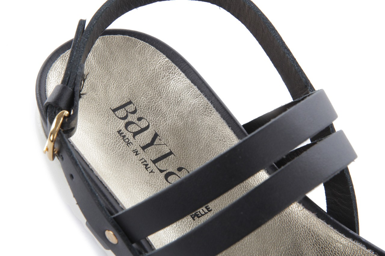 Sandały bayla-093 7554 black, czarny, skóra naturalna - bayla - nasze marki 15