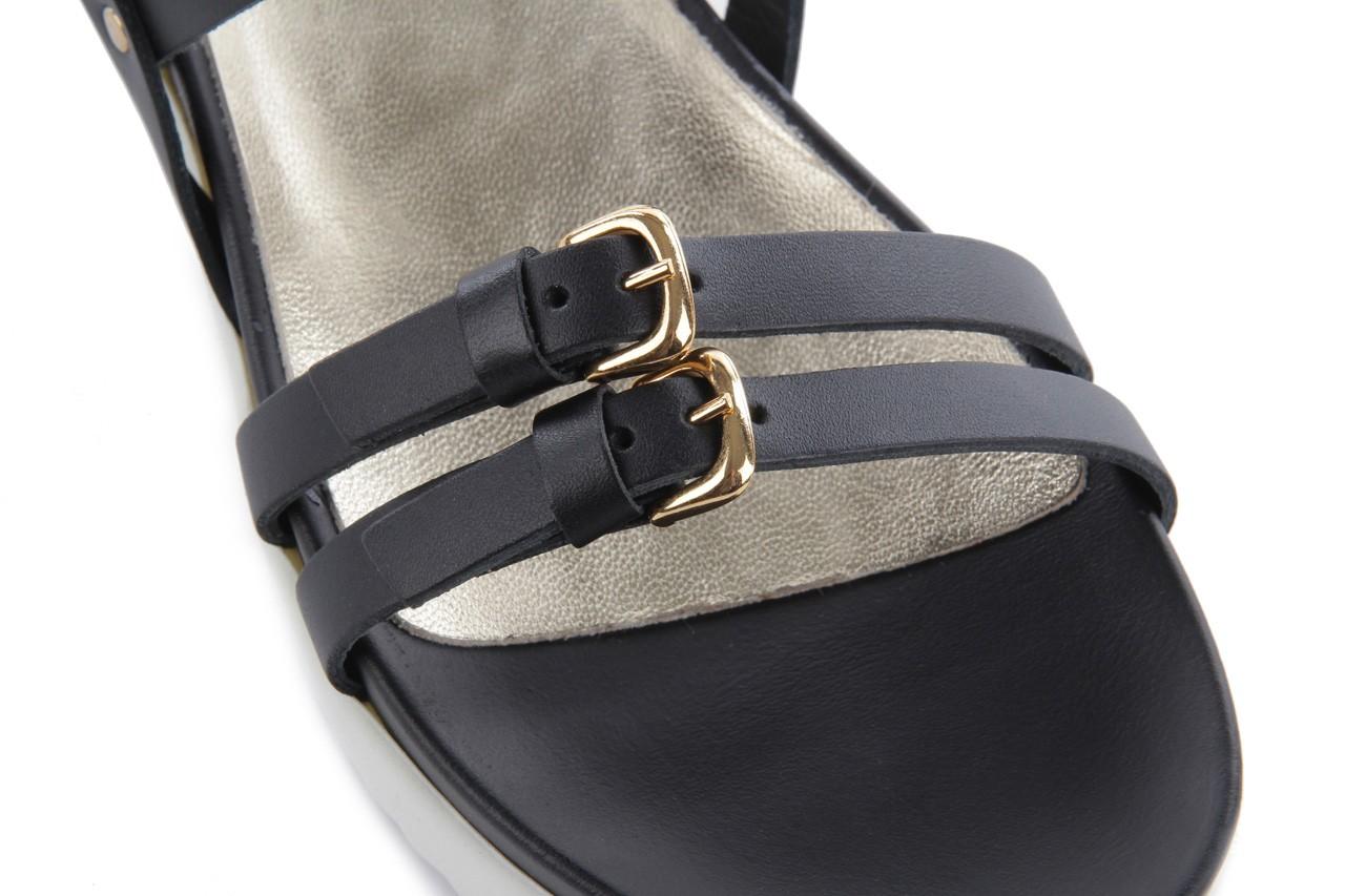 Sandały bayla-093 7554 black, czarny, skóra naturalna - bayla - nasze marki 13
