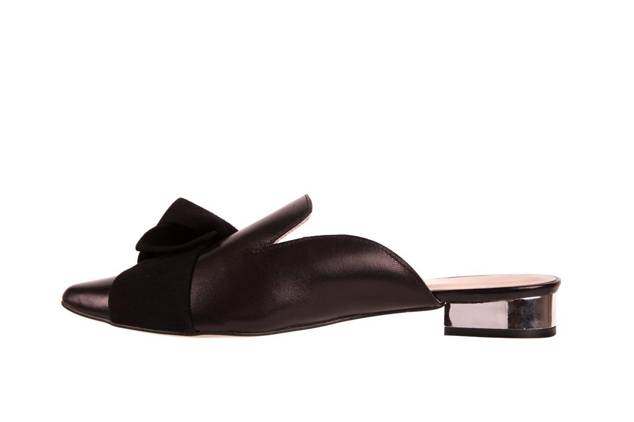 Klapki bayla-097 01 czarne klapki, skóra naturalna  - bayla - nasze marki 8