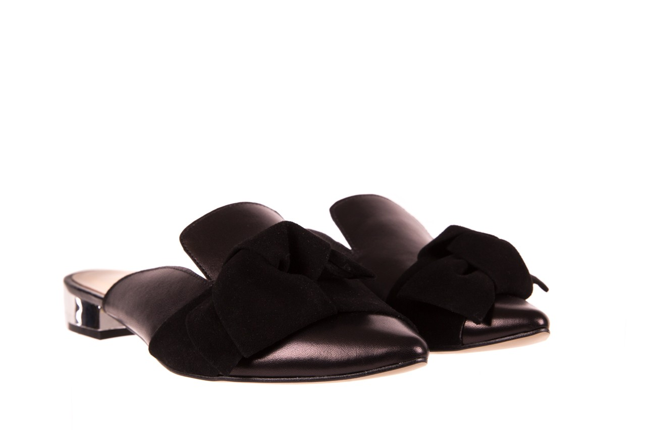 Klapki bayla-097 01 czarne klapki, skóra naturalna  - bayla - nasze marki 7