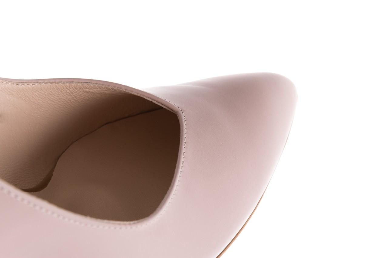 Czółenka bayla-097 02 różowe czółenka, skóra naturalna  - bayla - nasze marki 13