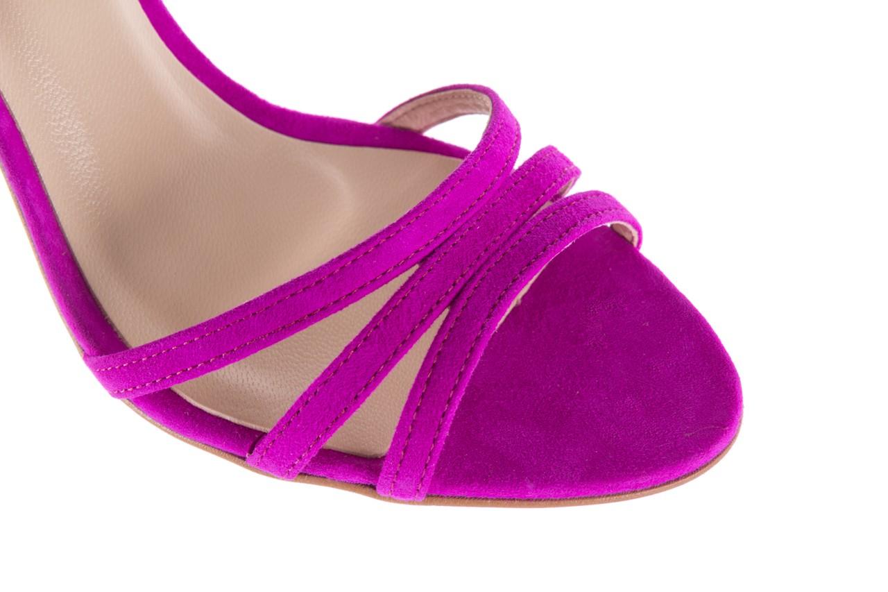 Sandały bayla-097 05 fuksjowe sandały, skóra naturalna  - bayla - nasze marki 13