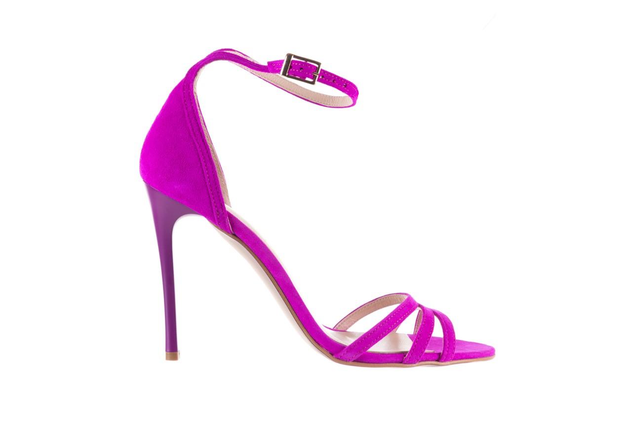 Sandały bayla-097 05 fuksjowe sandały, skóra naturalna  - bayla - nasze marki 7