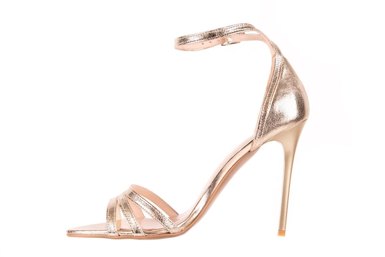 Sandały bayla-097 05 złote sandały, skóra naturalna  - bayla - nasze marki 7