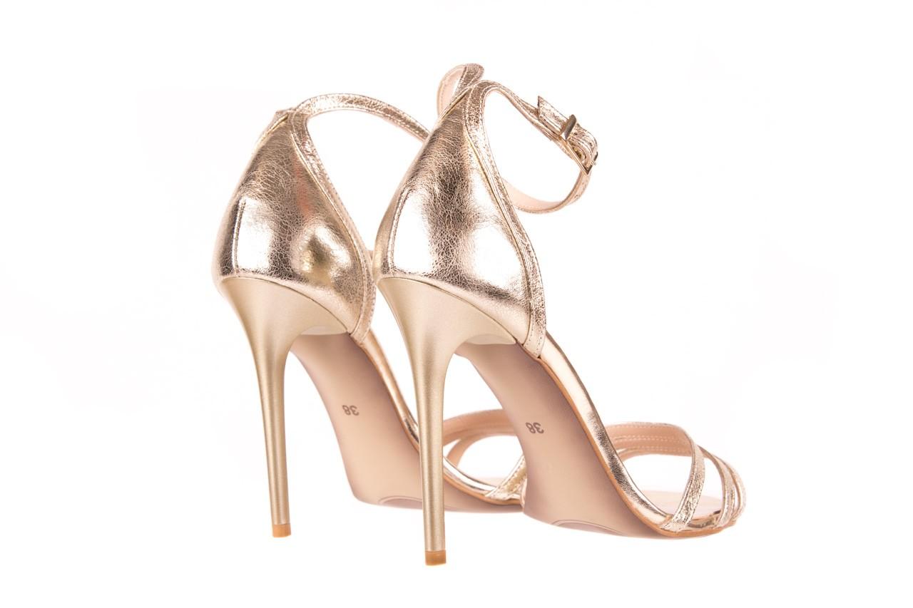 Sandały bayla-097 05 złote sandały, skóra naturalna  - bayla - nasze marki 8