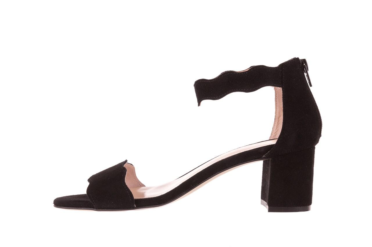 Sandały bayla-097 12 czarne sandały, skóra naturalna  - bayla - nasze marki 9