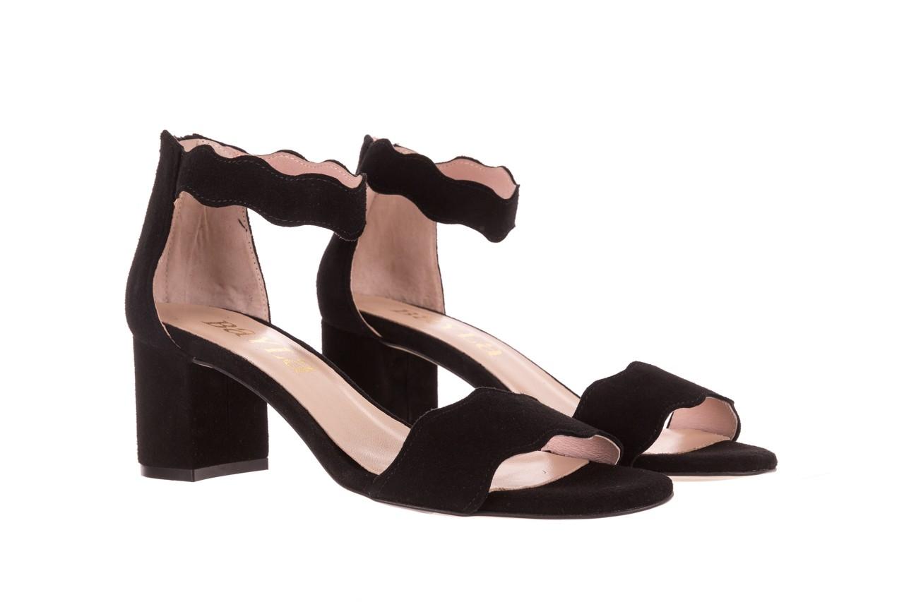 Sandały bayla-097 12 czarne sandały, skóra naturalna  - bayla - nasze marki 8