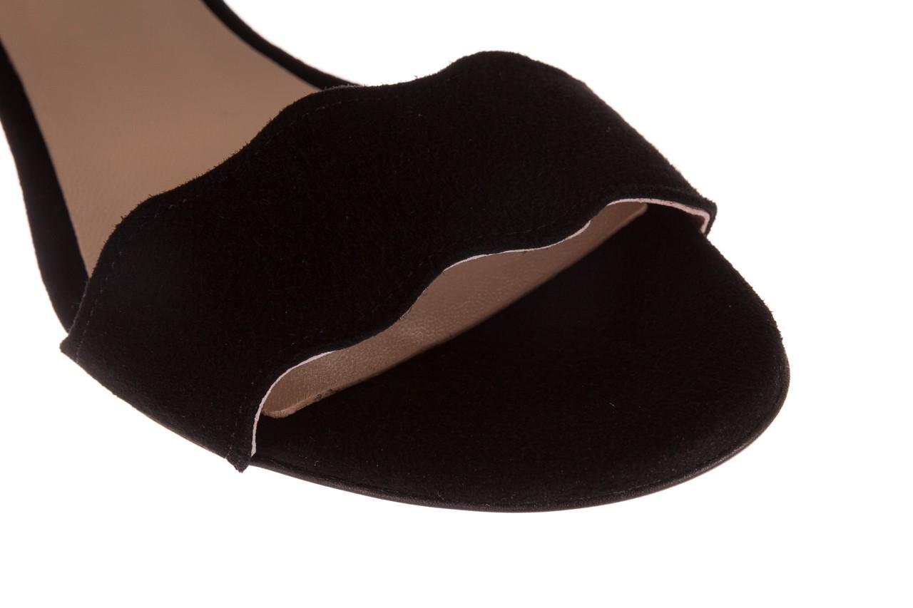 Sandały bayla-097 12 czarne sandały, skóra naturalna  - bayla - nasze marki 12