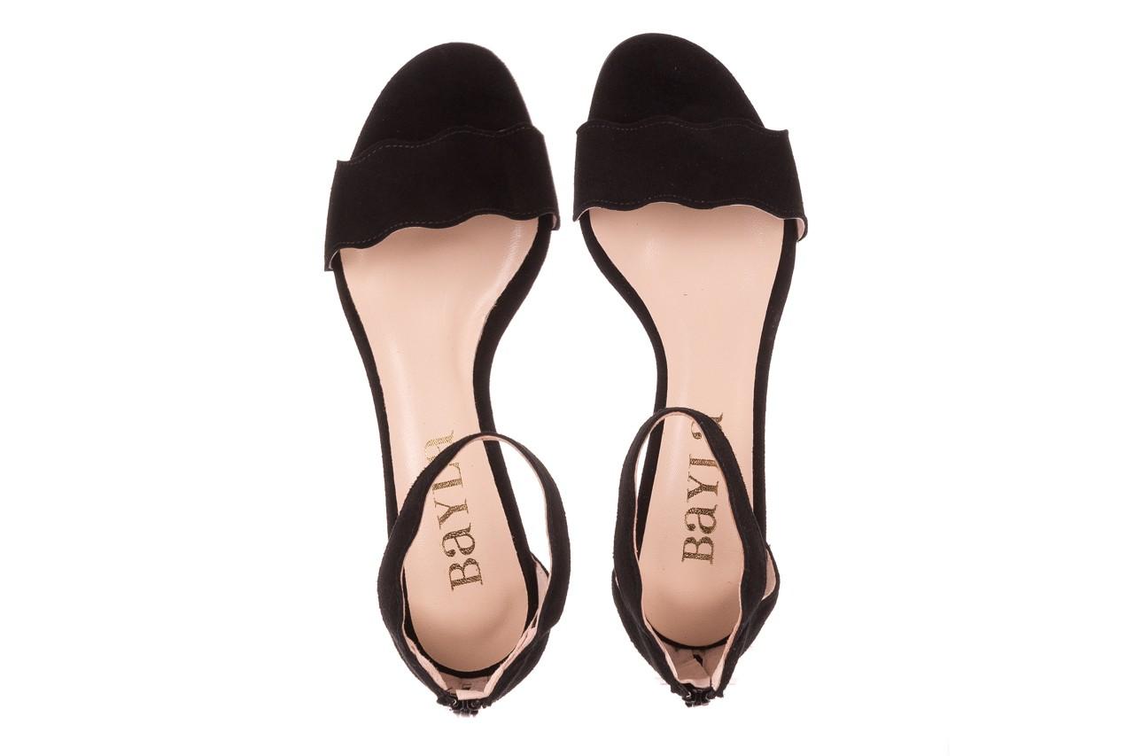 Sandały bayla-097 12 czarne sandały, skóra naturalna  - bayla - nasze marki 11