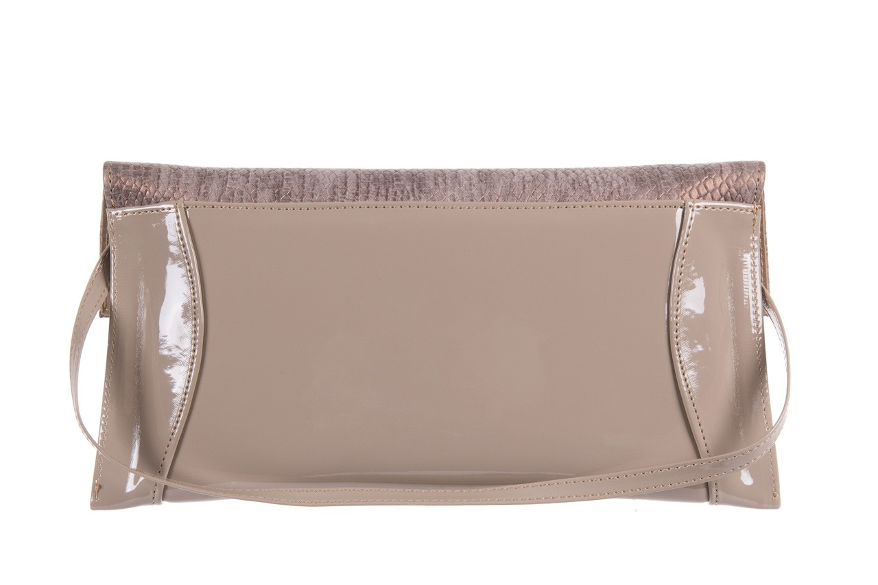 Bayla-097 torebka koperta sandra beż-metalic - bayla - nasze marki 7