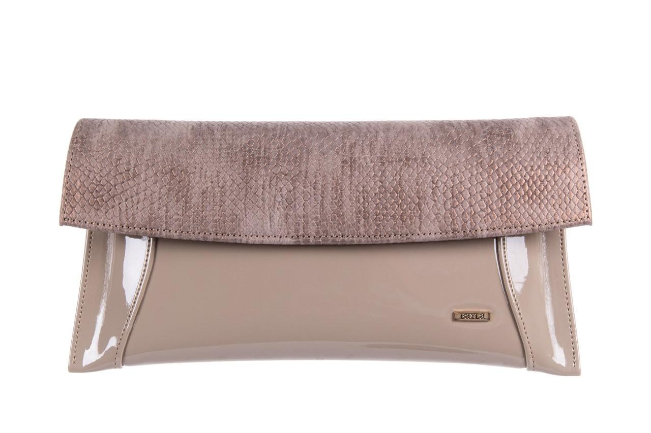 Bayla-097 torebka koperta sandra beż-metalic - bayla - nasze marki 5