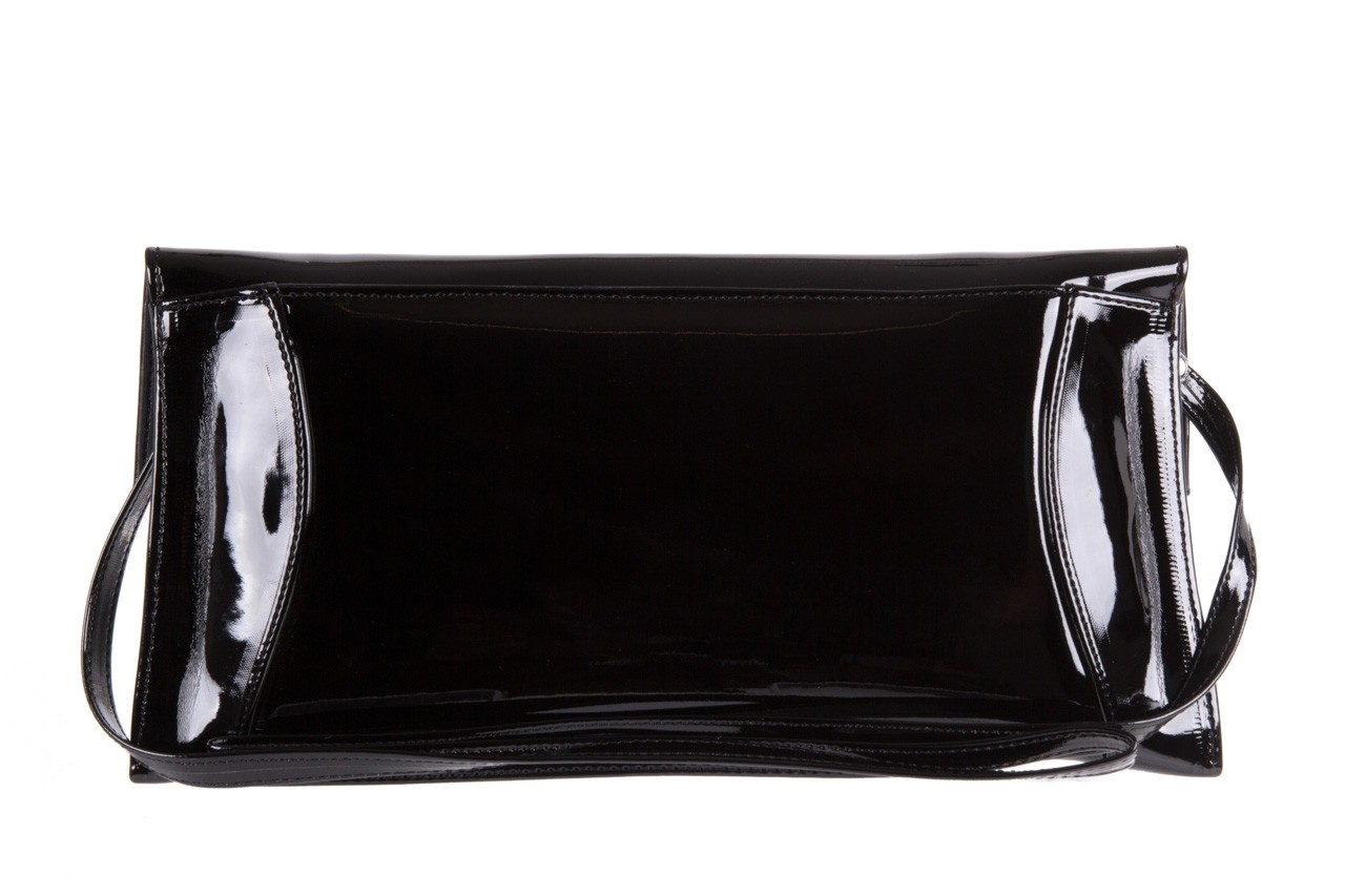 Torebka bayla-097 torebka koperta sandra czarny-lakier 17 7