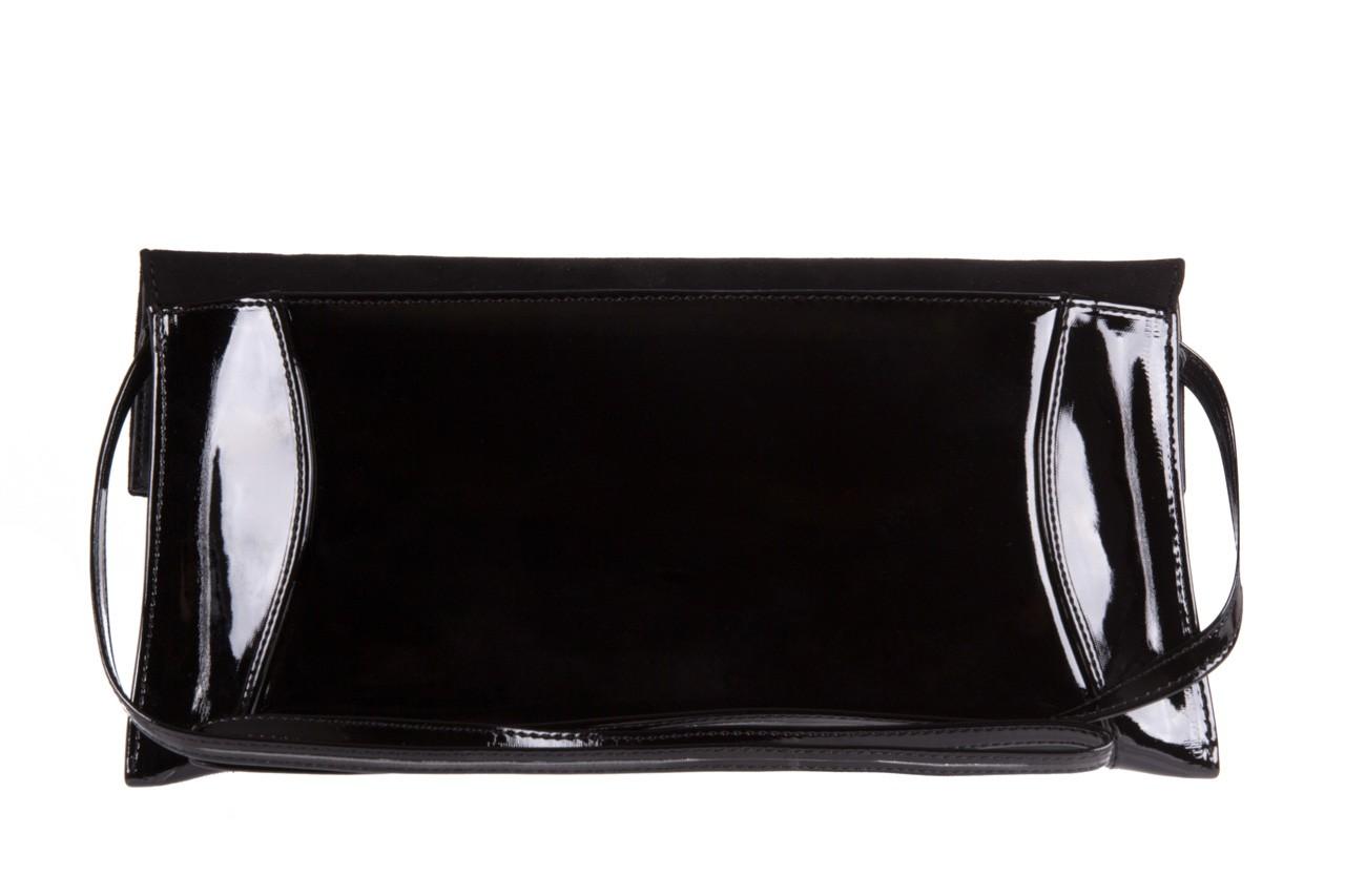 Bayla-097 torebka koperta sandra czarna-zamsz - bayla - nasze marki 7