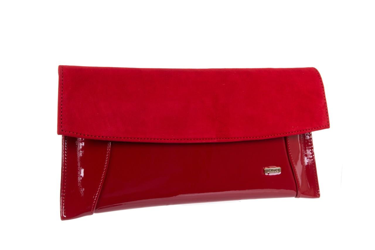 Bayla-097 torebka koperta sandra czerwona-zamsz - bayla - nasze marki 6