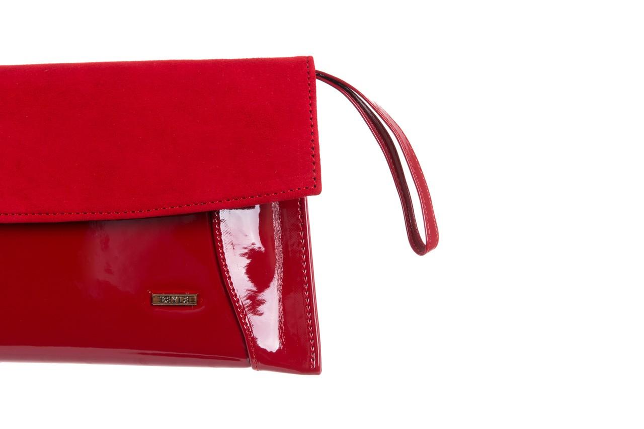 Bayla-097 torebka koperta sandra czerwona-zamsz - bayla - nasze marki 8