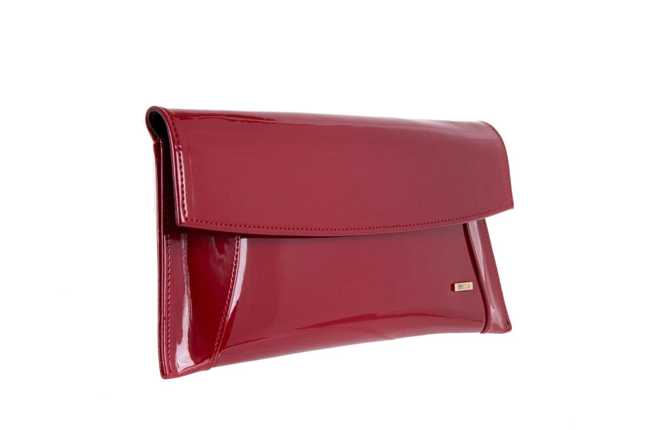 Torebka bayla-097 torebka koperta sandra czerwony-lakier 17 - akcesoria - kobieta 6