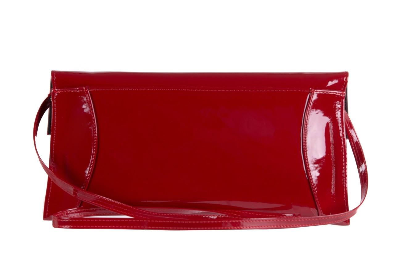 Torebka bayla-097 torebka koperta sandra czerwony-lakier 17 - akcesoria - kobieta 7