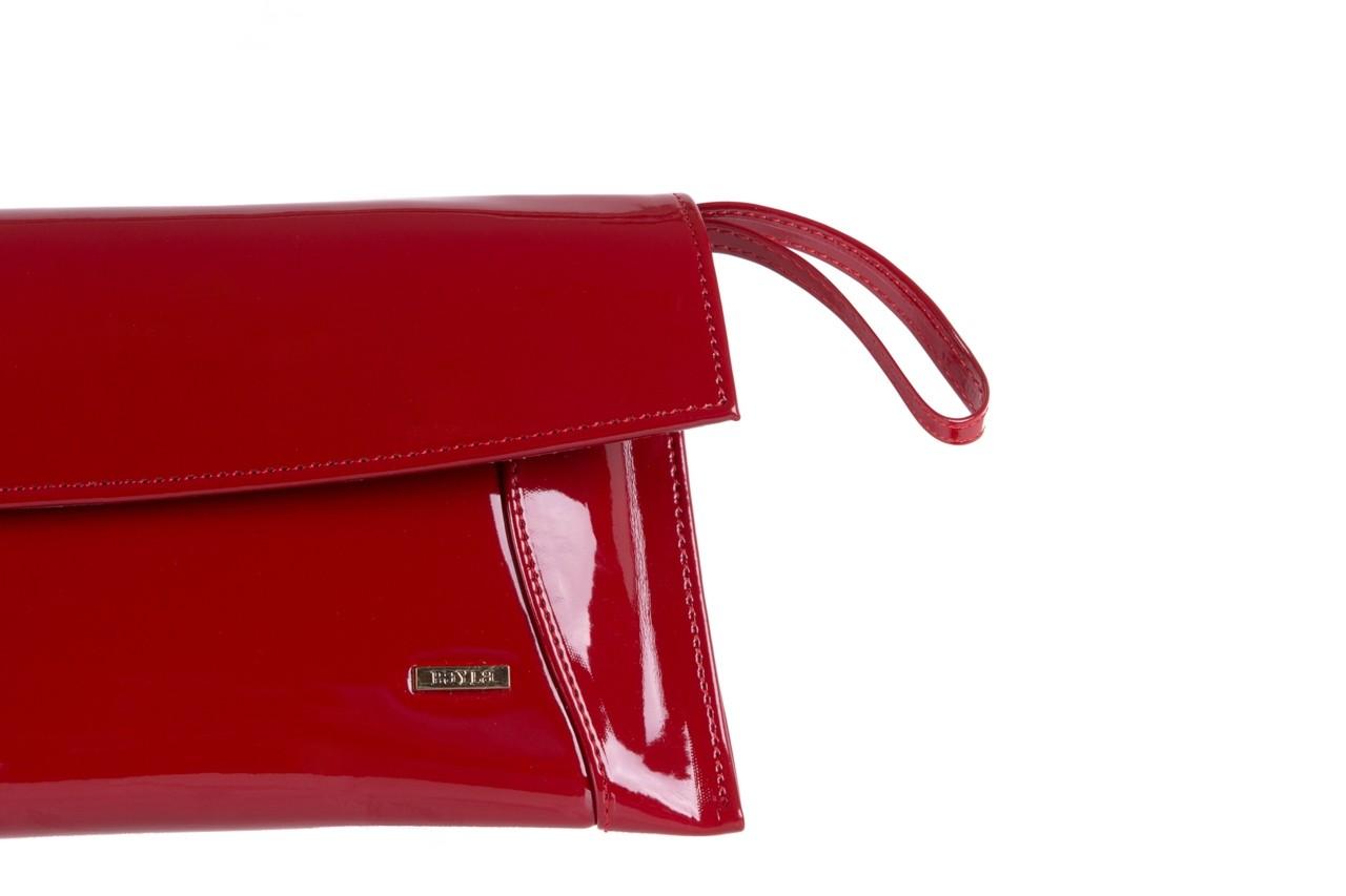 Torebka bayla-097 torebka koperta sandra czerwony-lakier 17 - akcesoria - kobieta 8