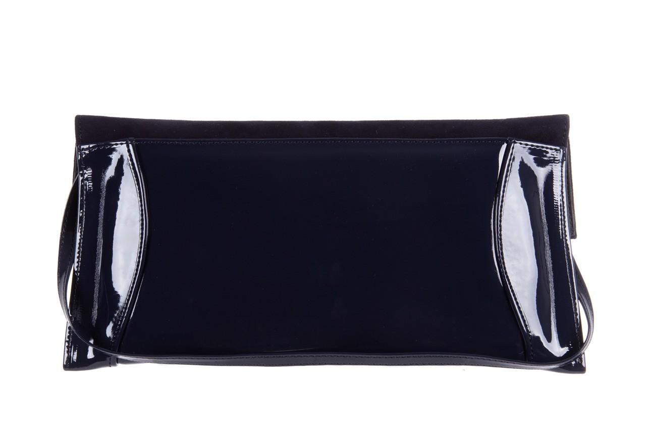 Bayla-097 torebka koperta sandra granat-zamsz - bayla - nasze marki 7
