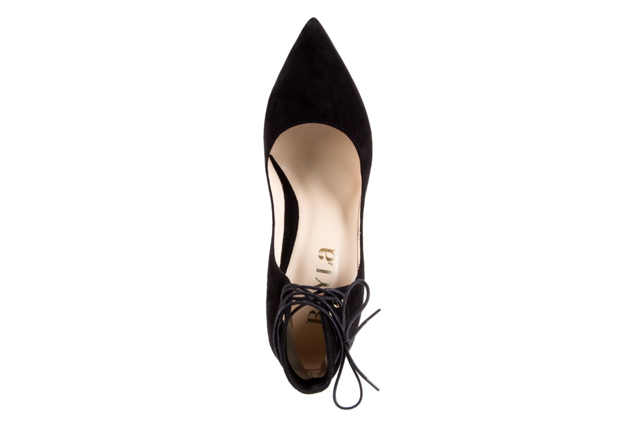 Szpilki bayla-097 z6940-447 czarny, skóra naturalna - obuwie excl 10 - kobieta - nieprzecenione 11