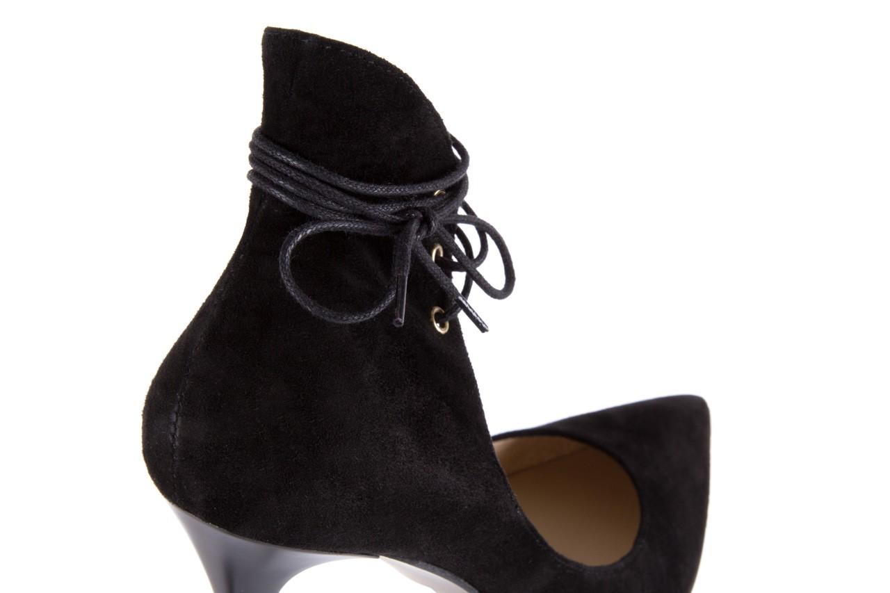 Szpilki bayla-097 z6940-447 czarny, skóra naturalna - obuwie excl 10 - kobieta - nieprzecenione 12