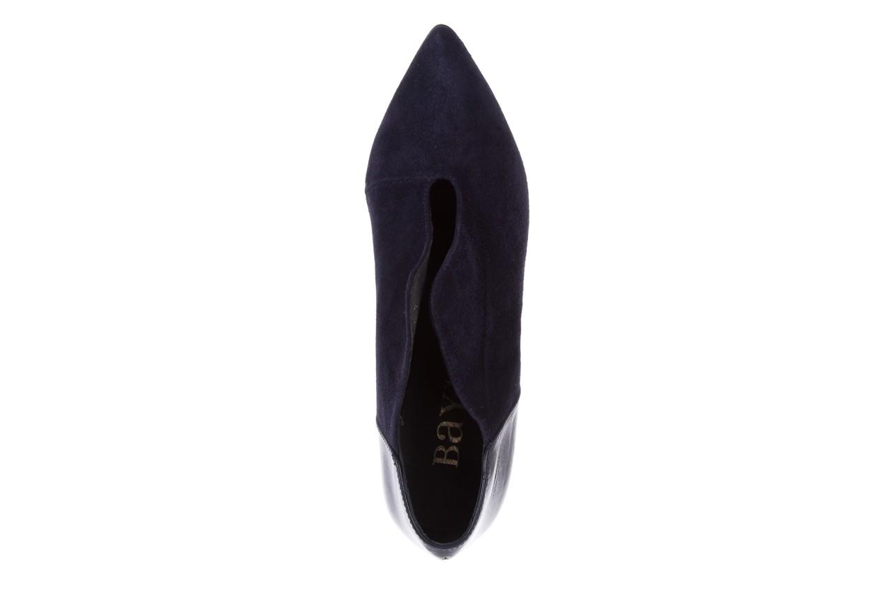 Botki bayla-097 zs7010-221 granat, skóra naturalna - na szpilce - botki - buty damskie - kobieta 11