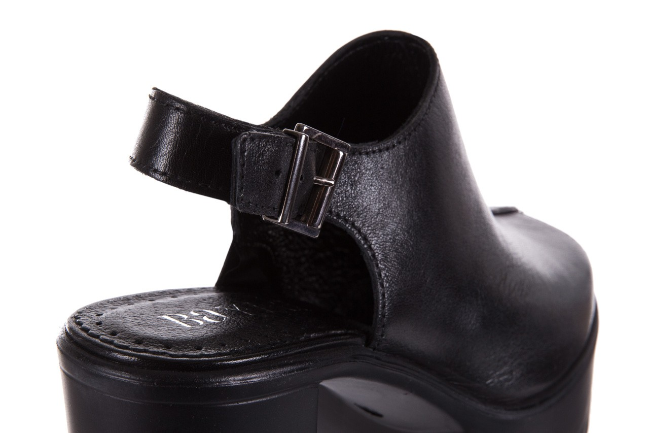 Sandały bayla-099 0184 sandro 04, czarny, skóra naturalna  - bayla - nasze marki 12