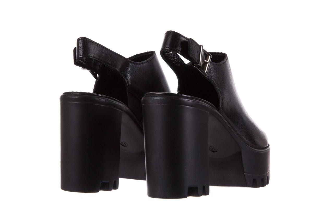 Sandały bayla-099 0184 sandro 04, czarny, skóra naturalna  - bayla - nasze marki 10