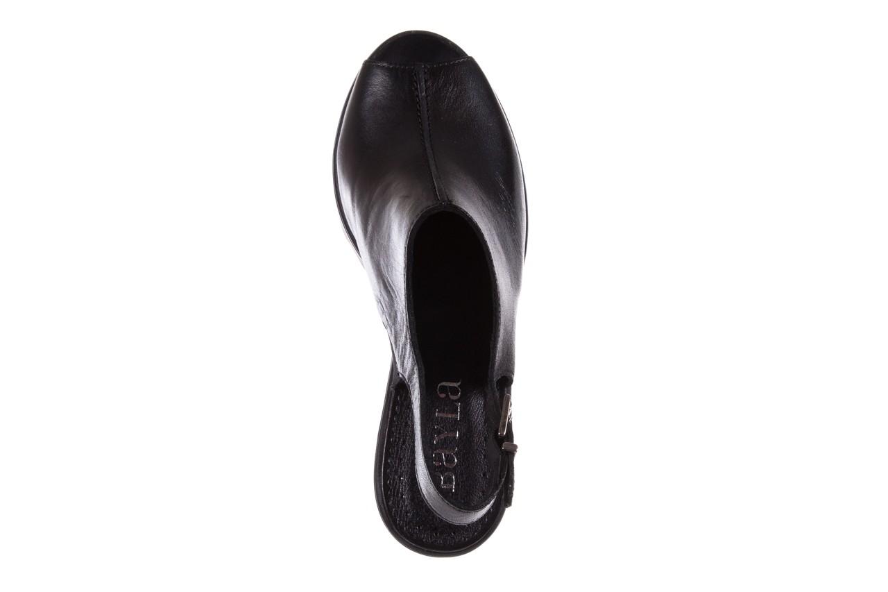 Sandały bayla-099 0184 sandro 04, czarny, skóra naturalna  - bayla - nasze marki 11