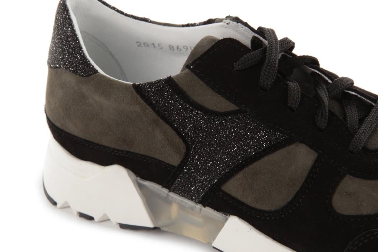 Sneakers bayla-099 8690 czarny, skóra naturalna - bayla - nasze marki 11