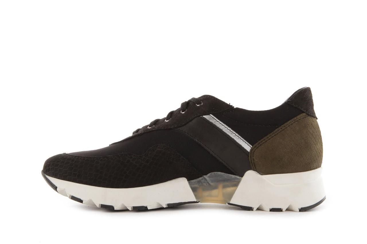 Sneakers bayla-099 8698 czarny, skóra naturalna - bayla - nasze marki 8