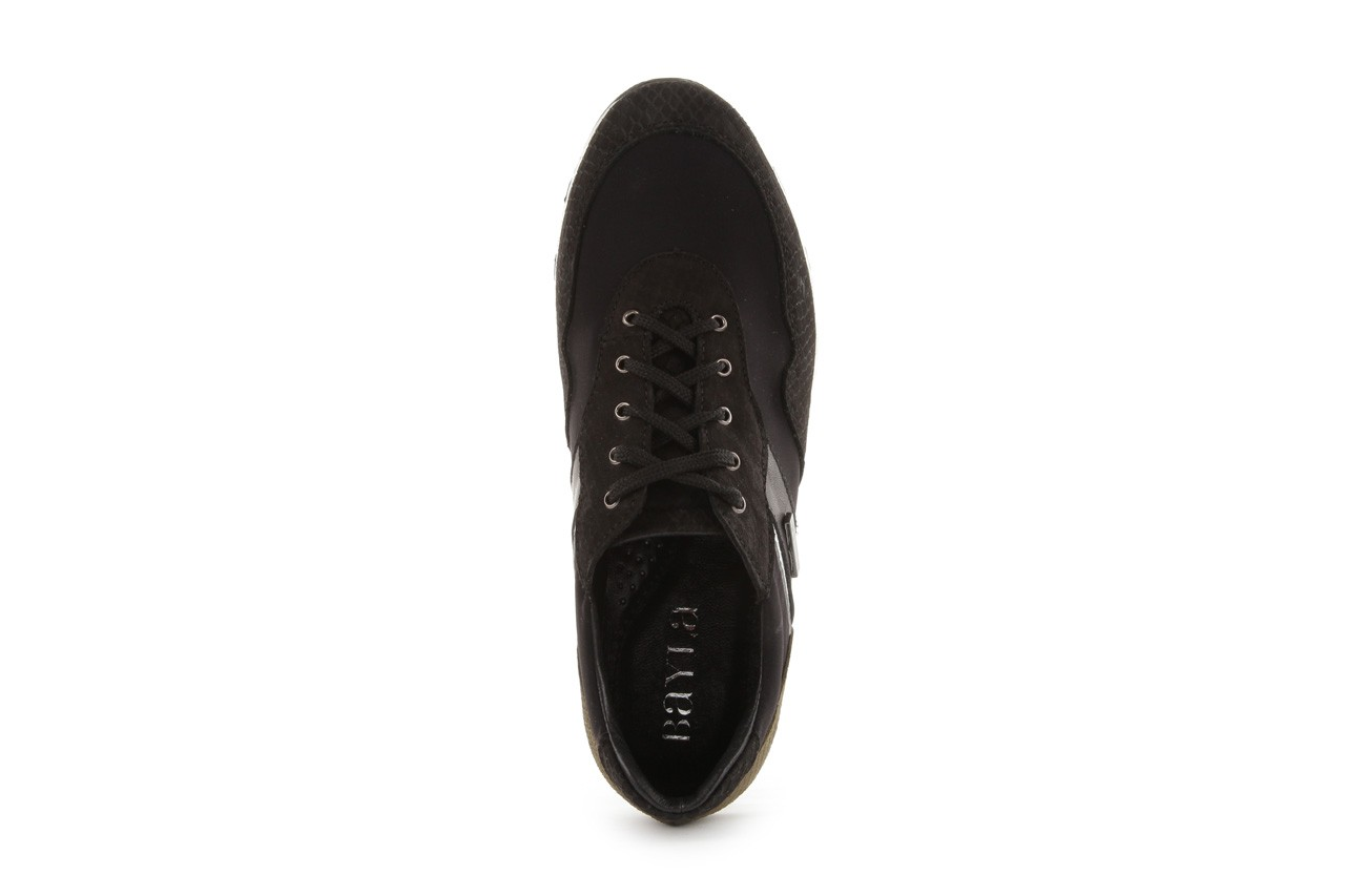 Sneakers bayla-099 8698 czarny, skóra naturalna - bayla - nasze marki 10