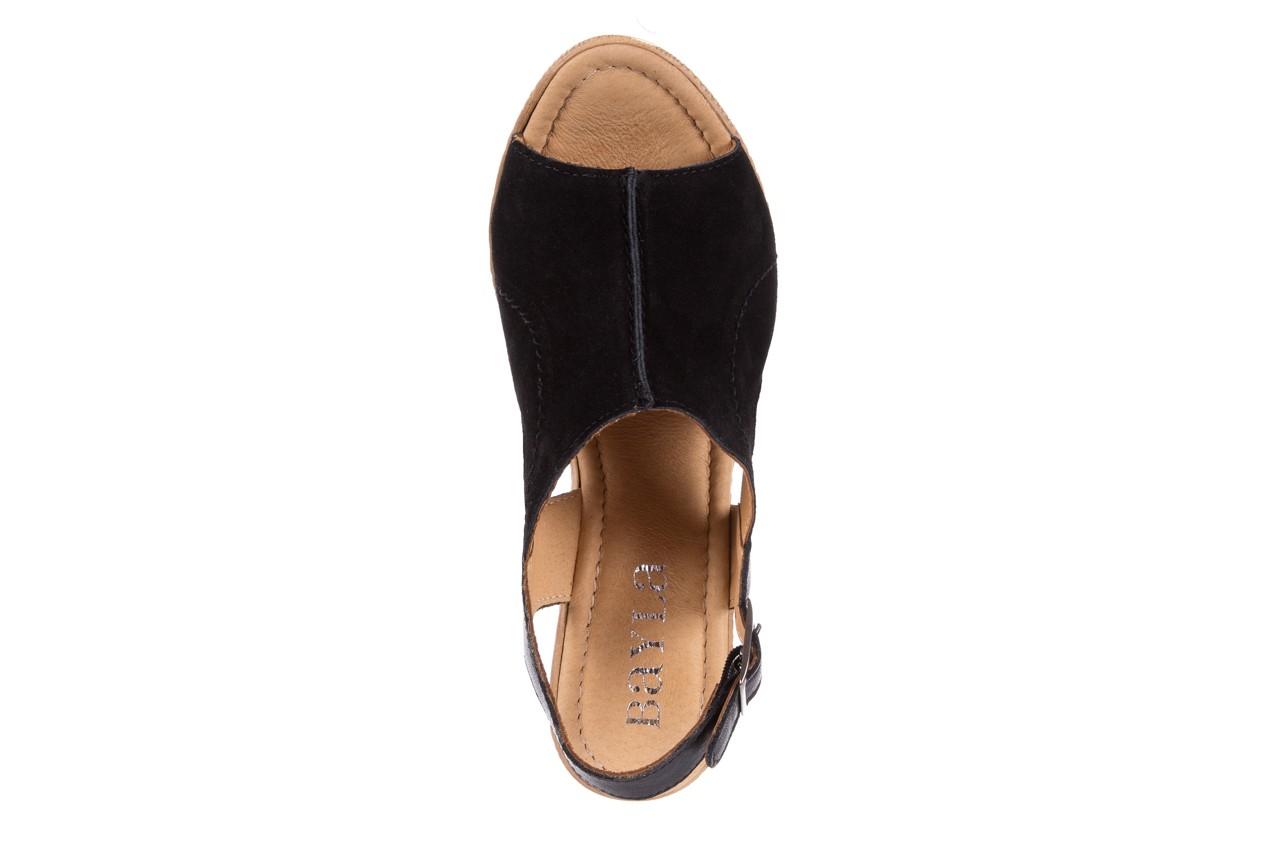 Sandały bayla-100 392s czarny wel, skóra naturalna  - bayla - nasze marki 10