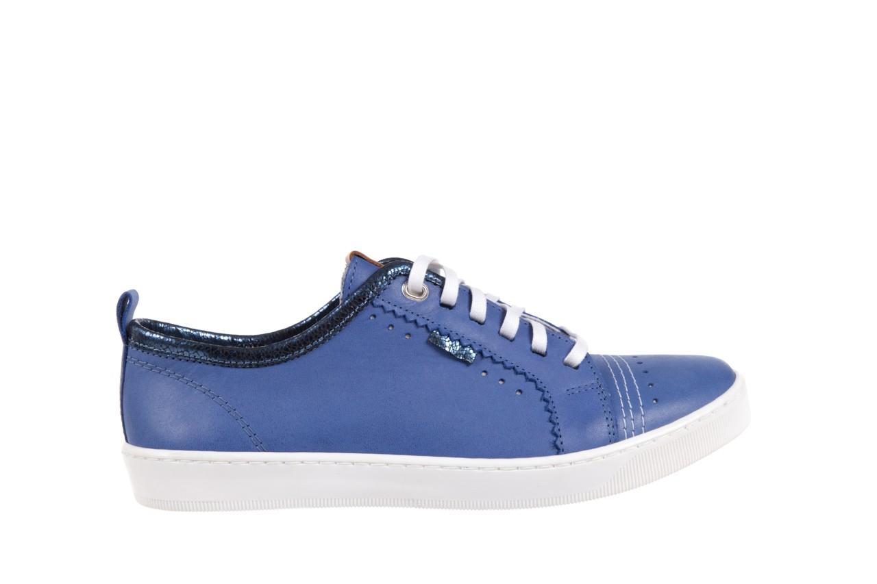Trampki bayla-100 445s niebieski l, skóra naturalna  - bayla - nasze marki 6