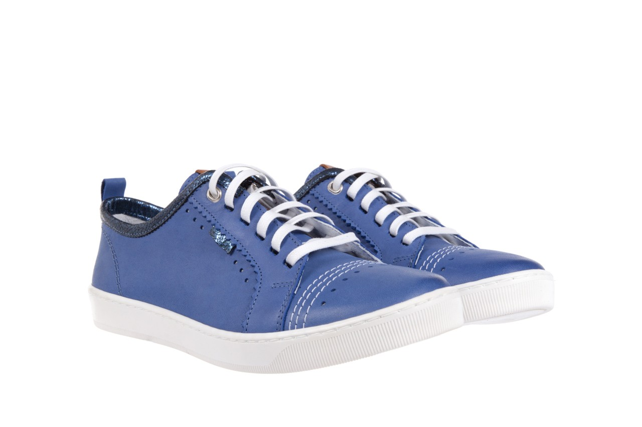 Trampki bayla-100 445s niebieski l, skóra naturalna  - bayla - nasze marki 7