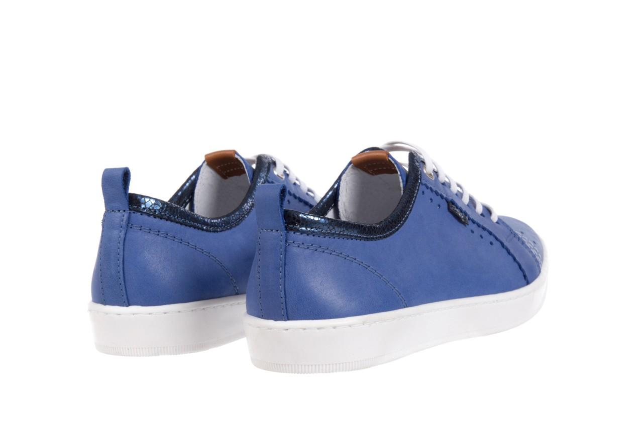 Trampki bayla-100 445s niebieski l, skóra naturalna  - bayla - nasze marki 9