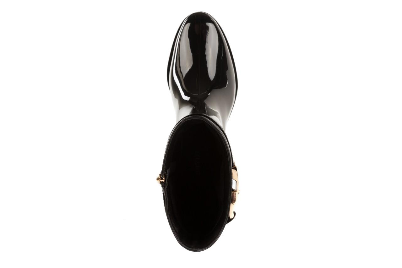 Kalosze bayla-106 3222011 black, czarny, guma/skóra naturalna - bayla - nasze marki 10