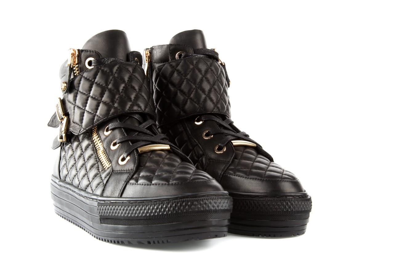 Trampki bayla-106 4208002 black, czarny, skóra naturalna - bayla - nasze marki 7