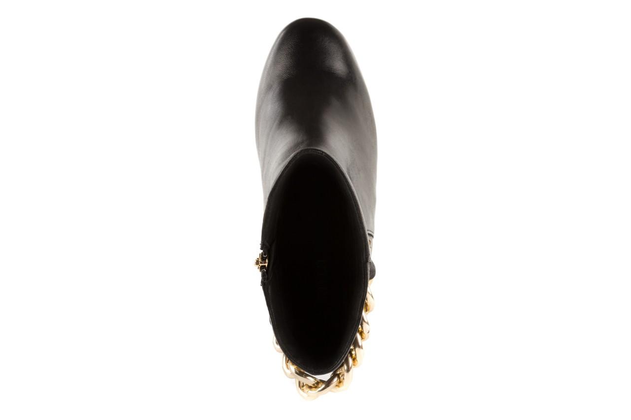 Botki bayla-106 4212005 black, czarny, skóra naturalna - biker - botki - buty damskie - kobieta 10
