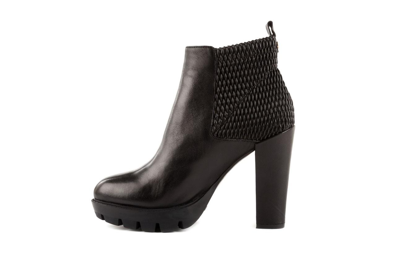 Botki bayla-106 4221004 black, czarny, skóra naturalna - biker - botki - buty damskie - kobieta 8