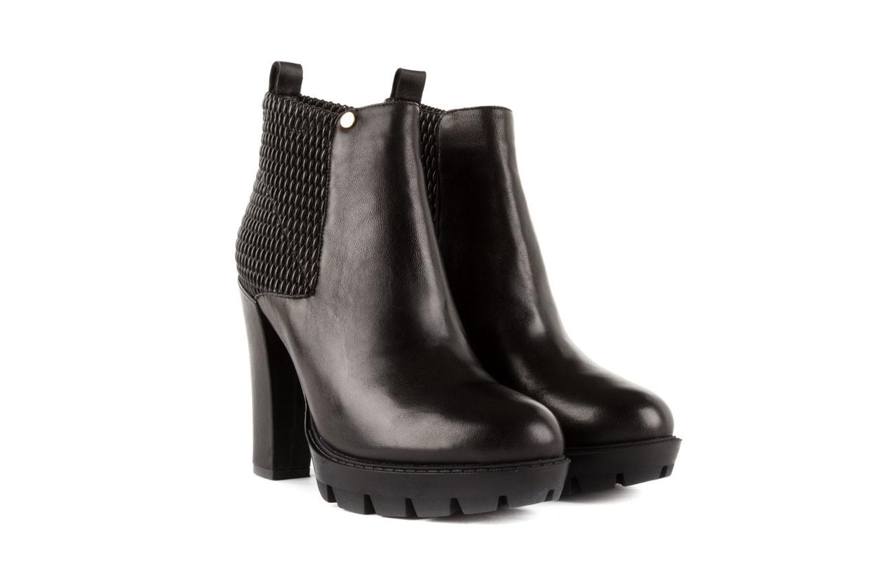 Botki bayla-106 4221004 black, czarny, skóra naturalna - biker - botki - buty damskie - kobieta 7