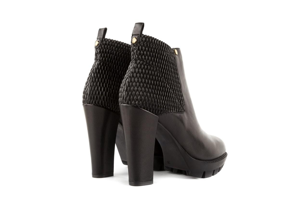 Botki bayla-106 4221004 black, czarny, skóra naturalna - biker - botki - buty damskie - kobieta 9