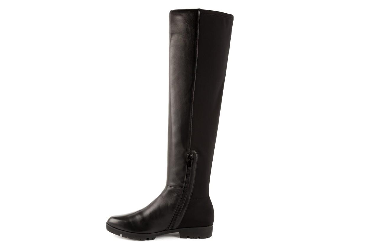Kozaki bayla-106 4225009 black, czarny, skóra naturalna/materiał - za kolano / muszkieterki - kozaki - buty damskie - kobieta 7