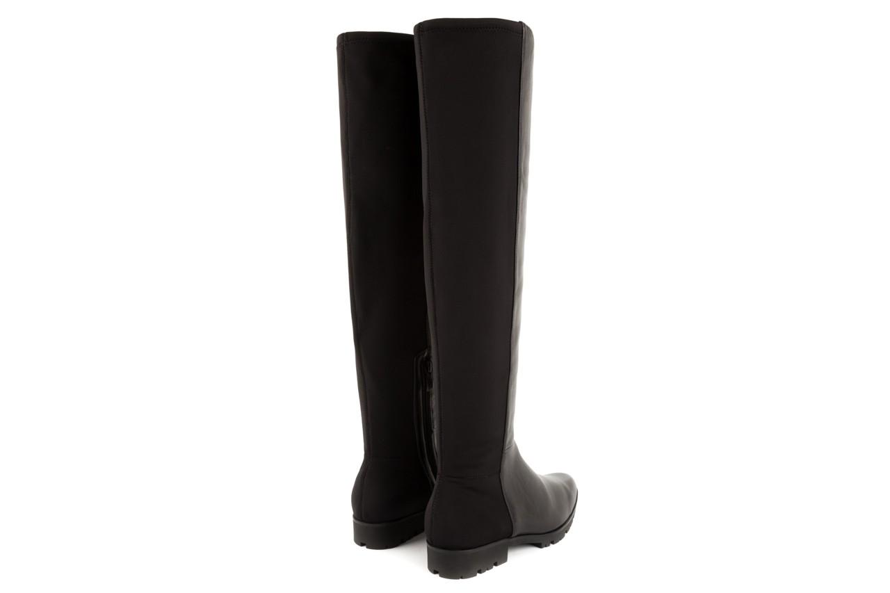 Kozaki bayla-106 4225009 black, czarny, skóra naturalna/materiał - za kolano / muszkieterki - kozaki - buty damskie - kobieta 8