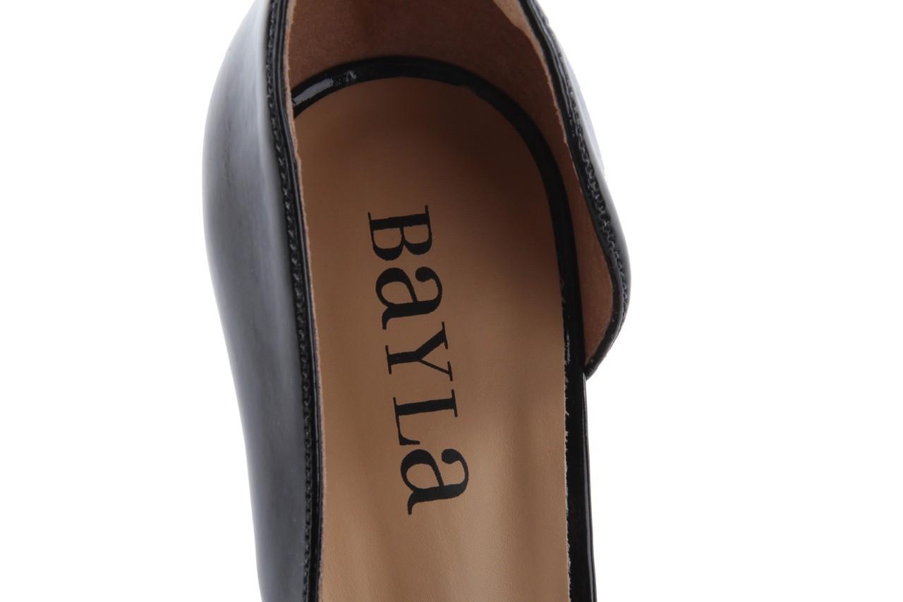 Szpilki bayla-109 859001 varnish black, czarny, skóra ekologiczna - bayla - nasze marki 13