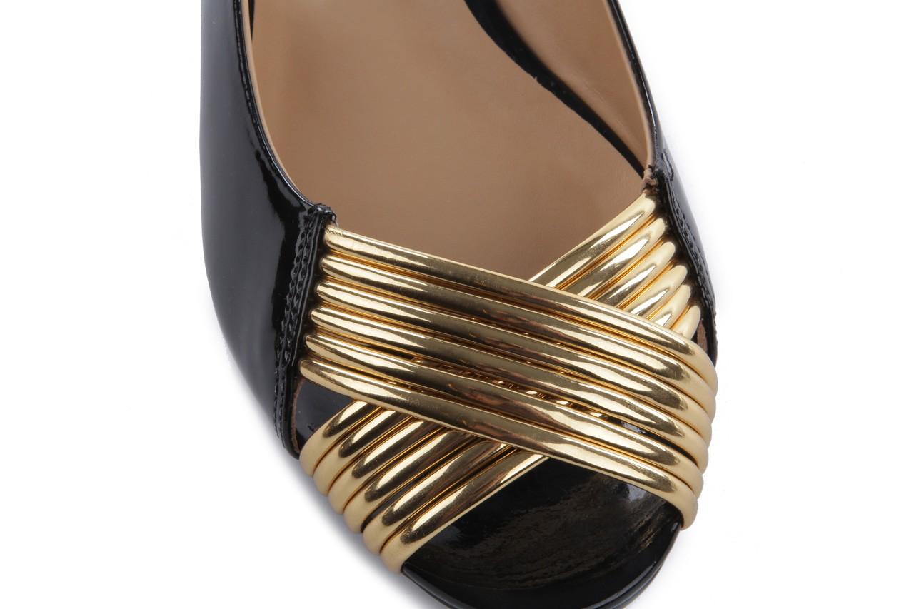 Bayla-109 869006 varnish black laminated gold - bayla - nasze marki 12