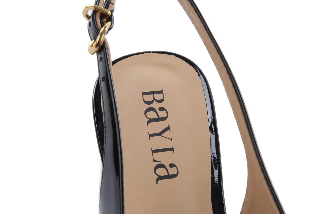 Bayla-109 869006 varnish black laminated gold - bayla - nasze marki 13