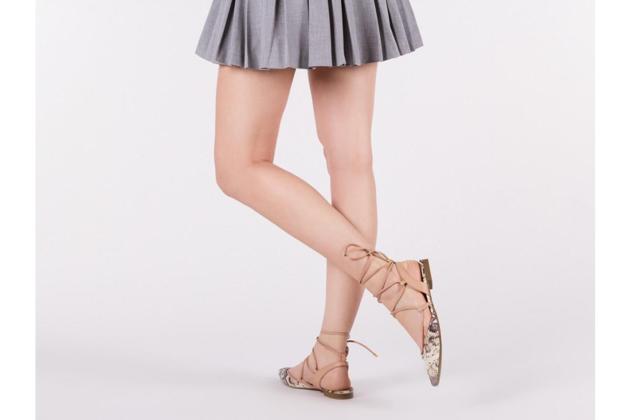 Sandały bayla-109 908008 s. ivory napa castor, beż/brąz, skóra ekologiczna - bayla - nasze marki 13